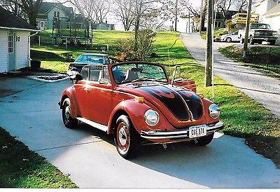 1972 Volkswagen Beetle - Classic karmann 1972 VW convertible