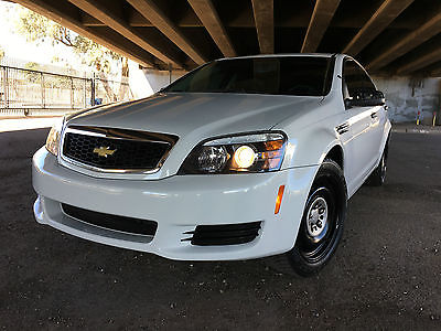 2012 Chevrolet Caprice PPV Sedan 4-Door 2012 Chevrolet Caprice 9C1 Police Highway Patrol Unit! Crown Victoria Charger