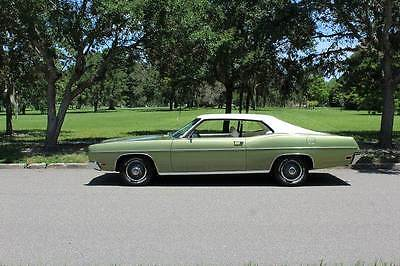 1970 Ford Galaxie 500 1970 Ford Galaxie 500 500 37,368 Miles Green Coupe 390 Automatic