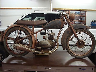 1949 BSA BANTAM D1  1949 bsa bantam d 1 barn find family owned since new clear title