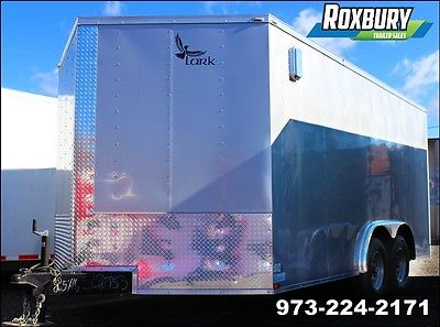 2016 Lark United 8.5x16 10K V-Nose Enclosed Cargo Trailer Heavy Duty