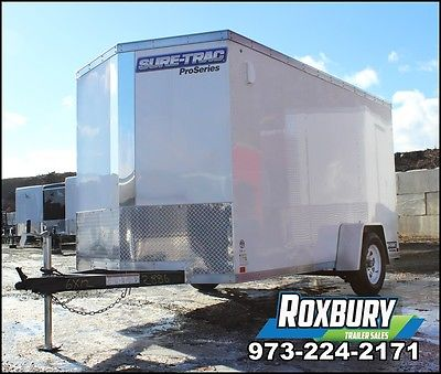 2017 Sure-Trac 6x12 Pro Series Wedge front enclosed cargo trailer Single Axle