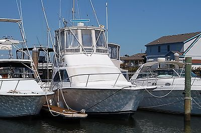 LUHRS - 320 TOURNAMENT SPORT FISHERMAN - CONVERTIBLE - SOLID AAA PEDIGREE VESSEL