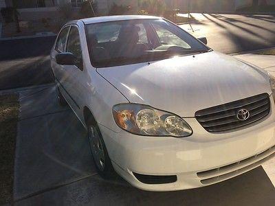 2003 Toyota Corolla CE Sedan 4-Door 2003 Toyota Corolla CE Sedan 4-Door 1.8L