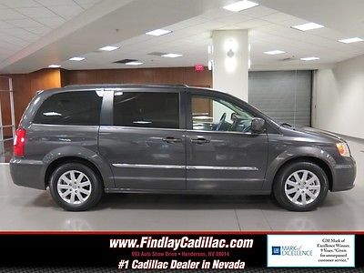 2016 Chrysler TOWN & COUNTRY TOURING 2016 CHRYSLER TOWN & COUNTRY TOURING Granite Crystal Metallic Clear VAN DOHC 24V