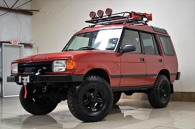 1998 Land Rover Discovery LIFTED 4X4 AFARI LAND ROVER DISCOVERY 2 LIFTED 4X4 ONE OWNER LOW MILES LOCKIN-DIFERENTIAL