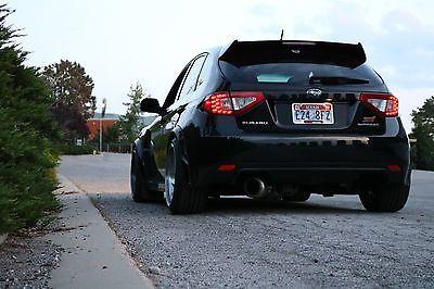 2008 Subaru Impreza WRX STI 2008 subaru impreza wrx sti