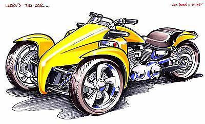 2017 Custom Built Motorcycles Other  MT130 Y-factor trike