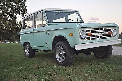 1977 Ford Bronco -- 1977 Ford Bronco