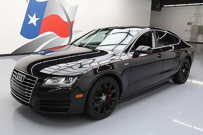 2012 Audi A7 Base Hatchback 4-Door 2012 AUDI A7 3.0T QUATTRO PREM PLUS AWD SUNROOF NAV 61K #001699 Texas Direct