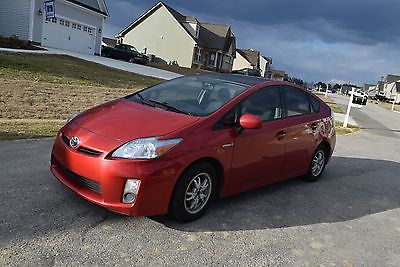 2010 Toyota Prius 2010 Toyota Prius Solar Sunroof Navigation Back up Camera Runs but Needs Repairs