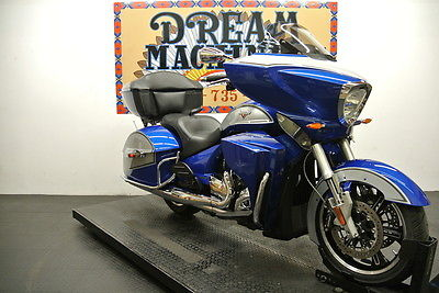 Victory TOURING  2014 Victory Cross Country Tour Two-Tone Sonic Blue & Silver *We Ship & Finance*