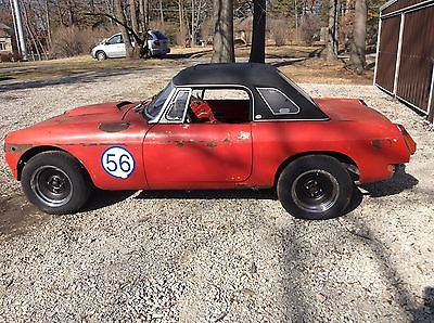 1975 MG MGB MGB 1975 V6 Conversion