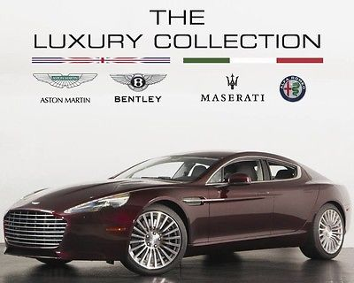 2015 Aston Martin Rapide  2015 Aston Martin