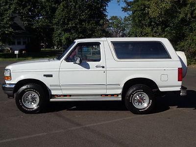 1993 Ford Bronco XLT 1993 FORD BRONCO XLT 4WD