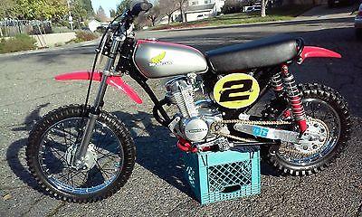 1975 Honda XR  1975 Honda XR75  DG/ Powroll Stroker Bike