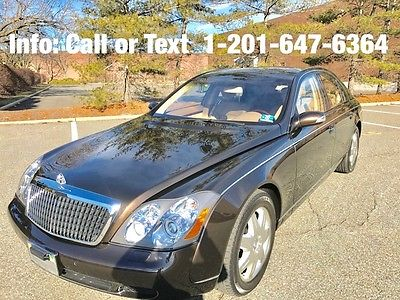 2004 Maybach 57 Base Sedan 4-Door Maybach 57 Yr 2004 Twin Turbo ONE OWNER - NJ