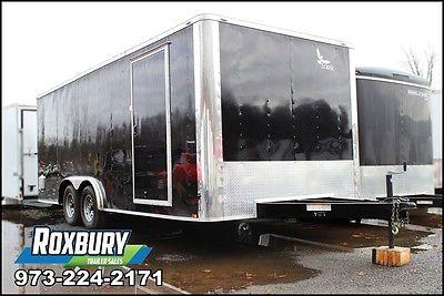 2017 Lark United 8.5x20 10K Enclosed Cargo Trailer Black Heavy Duty 12OC