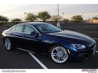 2013 BMW 6-Series Gran Coupe 2013 BMW 640i Gran Coupe 33197 Miles Deep Sea Blue Metallic Sedan 6 Automatic