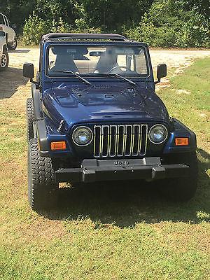 2000 Jeep Wrangler Sport 2000 jeep wrangler