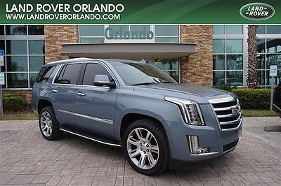 2016 Cadillac Escalade  2015 CADILLAC ESCLADE LUXURY COLLECTION-GRAY SILK-12K MILES-ONE OWNER-BEAUTIFUL