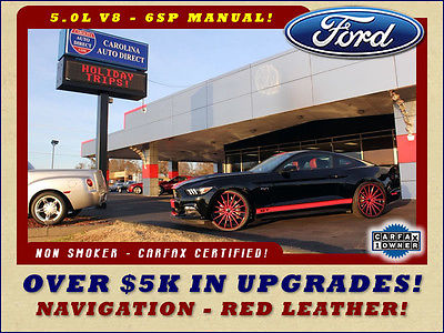 2015 Ford Mustang GT Premium W/ NAVIGATION - $5K IN UPGRADES! 1OWNER-22