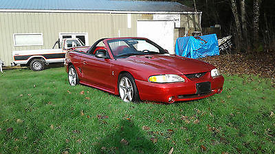 1996 Ford Mustang SVT Cobra Convertible 1996 Ford Mustang SVT Cobra Convertible 4.6 DOHC 5-sp Saleen Speedster Racecraft