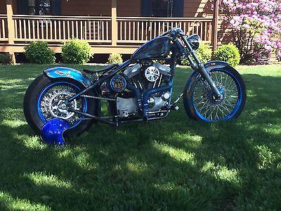 2014 Custom Built Motorcycles Bobber  2014 Custom Sportster Bobber