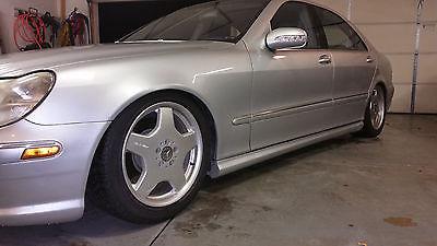 2002 Mercedes-Benz S-Class 55 AMG