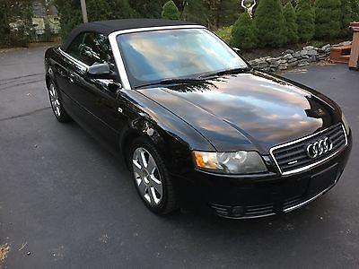 2005 Audi A4 Cabriolet Convertible 2-Door 2005 Audi A4 Convertible Quattro 3.0 V6 One Owner