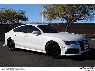 2015 Audi RS7 Prestige 2015 Audi RS7 Prestige 9986 Miles Suzuka Gray Metallic Sedan 8 Automatic