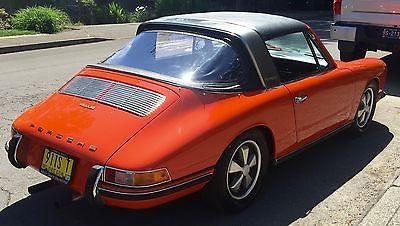 1968 Porsche 911 S 1968 PORSCHE 911S SOFT WINDOW TARGA, SOLID CAR WITH LOW, ORIGINAL MILES