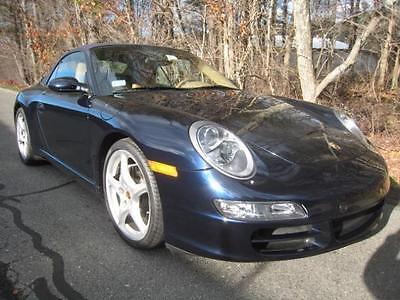 2007 Porsche 911 2007 Porsche 911 Carrera 6 Speed Manual 2-Door Convertible