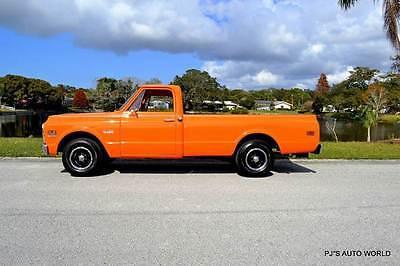 1970 Chevrolet Other Pickups -- 1970 Chevrolet C/K 10 Series  28,468 Miles Orange Pickup Truck 6 Cyl Manual