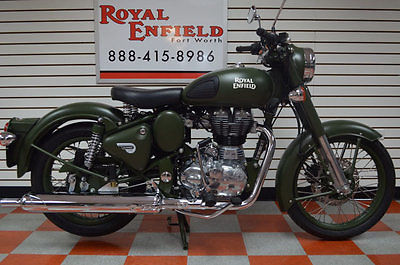 ROYAL ENFIELD C5 MILITARY RETRO FUN TO RIDE!!! 2017 ROYAL ENFIELD BULLET C5 MILITARY FUN RETRO RIDE WARRANTY,FINANCING CALL NOW
