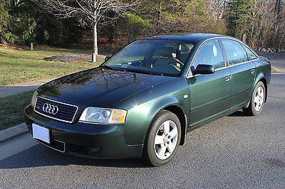 2002 Audi A6 2.7T 4D 2002 Audi A6 2.7T - original owner, green 4D with new stereo