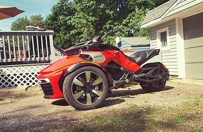 2015 Can-Am F-Series  Can Am Spyder F3-SE6