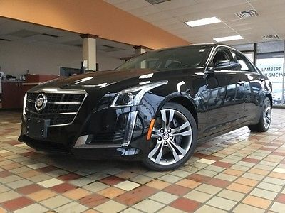 2014 Cadillac CTS 3.6L Twin Turbo Vsport 2014 Cadillac CTS 3.6L Twin Turbo Vsport 22,336 Miles Black Raven 4D Sedan 3.6L