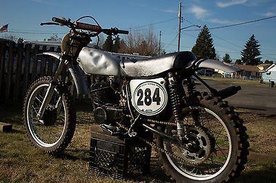1974 Honda CR  1974 Honda CR250