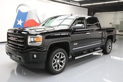2014 GMC Sierra 1500 SLT Crew Cab Pickup 4-Door 2014 GMC SIERRA ALL TERRAIN CREW 4X4 REAR CAM 20'S 28K #241178 Texas Direct Auto