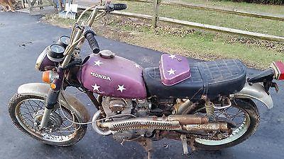 1971 Honda CL  1971 Honda CL350 Scrambler
