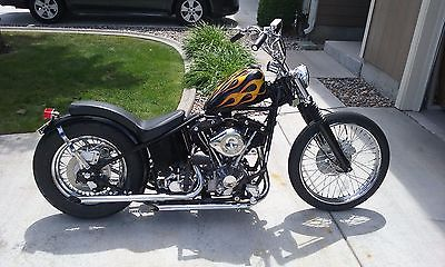 Harley Rigid Bobber Motorcycles for sale