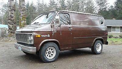 1978 Chevrolet G20 Van G10 Short Wheel Base Half-Ton Panel Van OG Paint G10 Shorty Custom
