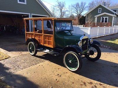 1927 Ford Model T  1927 Ford Model T Depot Hack