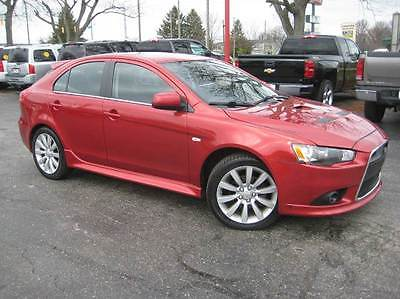 2011 Mitsubishi Lancer Sportback Ralliart AWD Hatchback 2011 Mitsubishi Lancer Sportback Ralliart AWD Hatchback 88,770 Miles Rally Red M