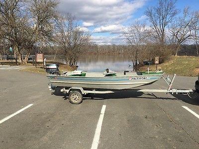 Landau Jon Boat - ready to fish