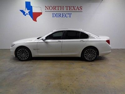 2012 BMW 7-Series  12 740i GPS Navi Camera Sunroof Leather Heated Seats We Finance Texas