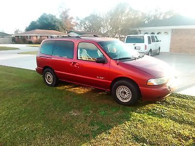 1999 Nissan Quest  Cheap 1999 Nissan Quest Car Work Vehicle Nice Reliable Van Make me an Offer!