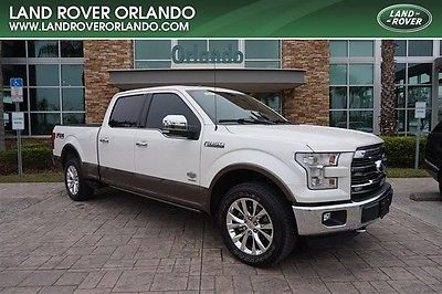 2015 Ford F-150  2015 FORD F-150 KING RANCH CREW CAB-4X4-3.EL ECO BOOST-ONE OWNER-CLEAN CARFAX!
