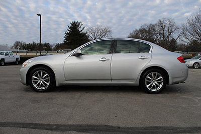 2007 Infiniti G35 4dr Automatic G35x AWD 4dr Automatic G35x AWD Sedan Automatic Gasoline 3.5L V6 Cyl SILVER